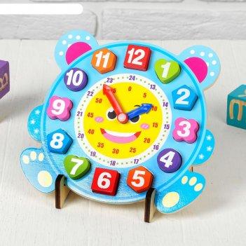 Часы учим время 3х23х22,5 см