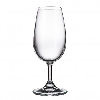 Набор бокалов для вина crystalite bohemia colibri/gastro 210 мл (6 шт)