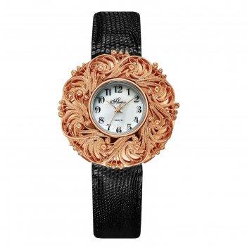 Часы наручные женские flora, кварцевые, модель 1143b8-l2-1
