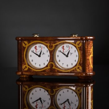 Шахматные часы в стиле барокко kadun