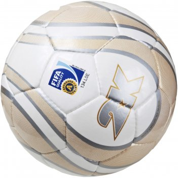 Мяч футбольный 2k sport parity gold fifa approved, white/gold/silver, разм
