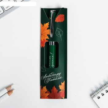 Подарочная ручка любимому учителю, металл
