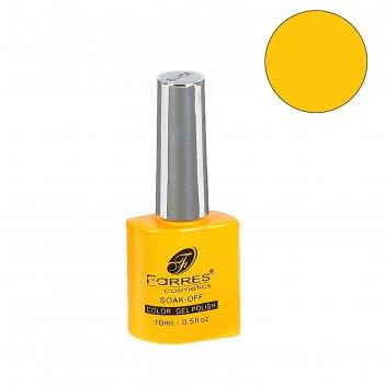 Гель-лак для ногтей farres termo gel ярко-оранжевый np004-19, 8 мл