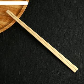 Палочки деревянные для еды 21 см, в индивидуальной п/э упаковке