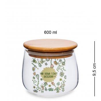 Gs-41/2 банка для сыпучих флора и фауна 600мл