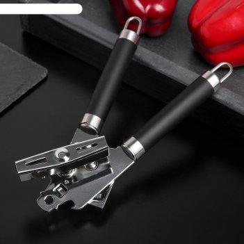 Нож консервный доляна «нео», 20,5 см, ручка soft-touch