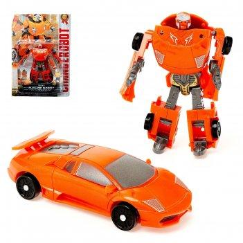 Робот-трансформер спорткар, микс