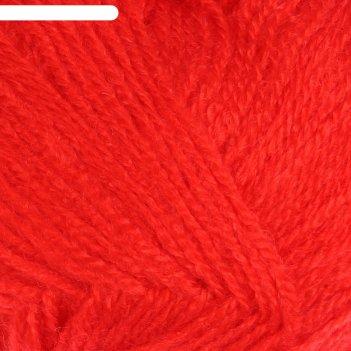 Пряжа adelia natali 100% акрил 300м/50гр (05 алый)