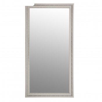 Зеркало настенное «верона», белое, 60х120 см