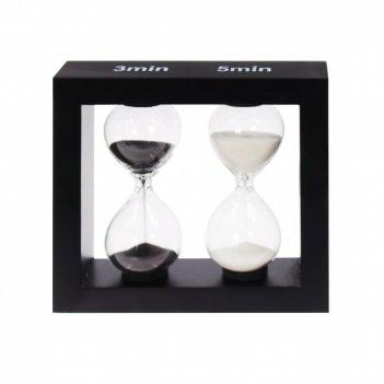 Часы песочные (3/ 5 мин), l11,5 w3 h10,5 cм
