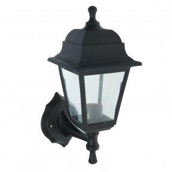 Светильник tdm, садово-парковый, настенный, четырёхгранник, чёрный, sq0330
