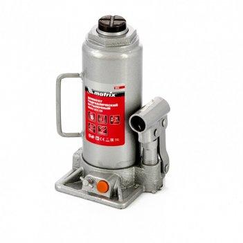 Домкрат гидравлический бутылочный, 10 т, h подъема 230-460 мм matrix