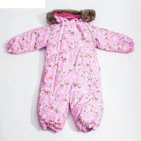 Спальный мешок детский zippy, рост 56 см, цвет розовый с принтом 71313_м