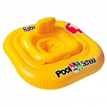 Круг для плавания с сиденьем 79х79 см, 1-2 года