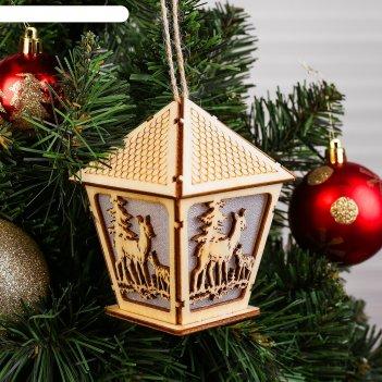 Декор с подсветкой волшебный фонарь