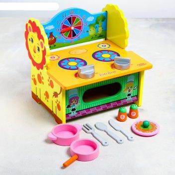Игровой набор «кухня-львёнок» 27x21x7 см