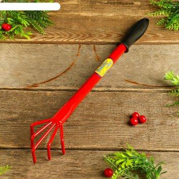Рыхлитель, длина 40 см, 5 зубцов, пластиковая ручка