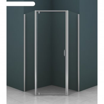 Душевое ограждение azario az-112p, 90 х 90 х 200 см, хром, толщина стекла