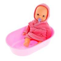 Пупс в ванночке, цвета микс