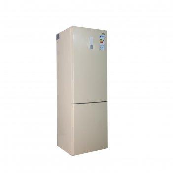 Холодильник zarget zrb 415nfbe, двухкамерный, класс а+, 298 л, no frost, д