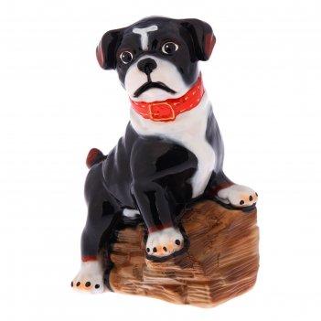 Статуэтка собака оскар, чёрная