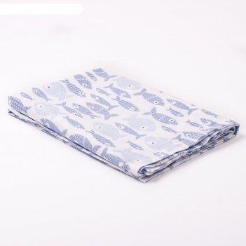 Пеленка набивная, 110х80 см, цвет белый