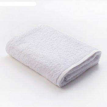 Полотенце махровое экономь и я 70*130 см белый, 100% хлопок, 340 г/м2