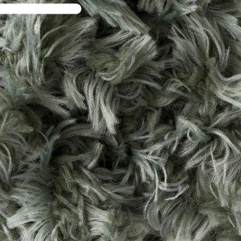 Пряжа puffy fur 100% микрополиэстер 6м/100г  (6117 хаки)