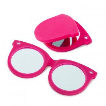 Зеркальце shades розовое