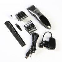 Машинка для стрижки волос endever sven 985, 2 насадки, беспроводная/сеть,