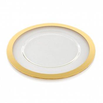 Ivv блюдо avenue gold 32 см