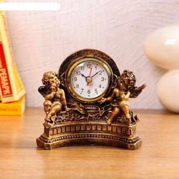 Часы настольные ангелы, 1 аа, дискретный ход,  14х7х12.5 см