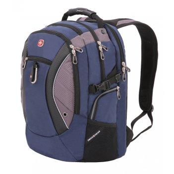 Рюкзак swissgear, 15, синий/серый, 900d, 35х23х48 см, 39 л