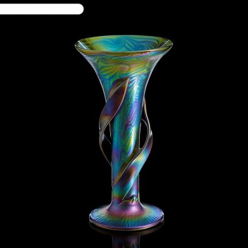 Ваза интерьерная open iris glass