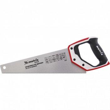Ножовка по дереву для точных пильных работ, 350 мм, каленый зуб 3d, 14 tpi