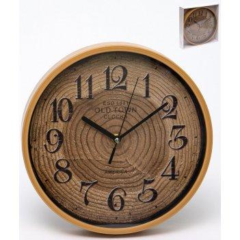 Часы настенные круглые home art 25,1 см
