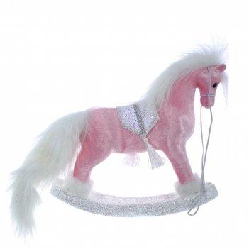 Фигурка декоративная лошадка, l50 w8 h26 см