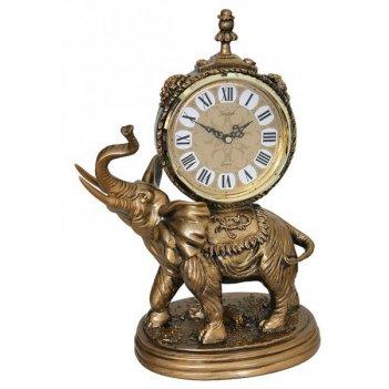 Скульптурные часы из полимерных смол восток 8317-2