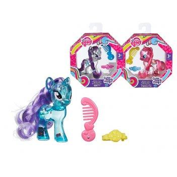 My little pony. пони с блестками в ассортименте,3+