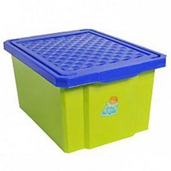Зеленый ящик для хранения игрушек 1017la-gr