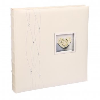Фотоальбом магнитный 30 листов image art серия 084 свадебный книжный п-т 3