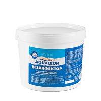 Медленный стабилизированный хлор aqualeon таб. 200 гр., 5 кг