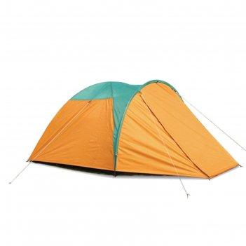 Палатка туристическая wildman™ «дакота», 3-х местная, двухслойная, 300x200