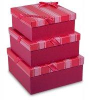 Zk-02 набор коробок из 3шт яркая тесьма