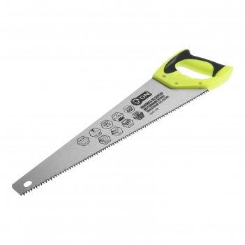 Ножовка по дереву on 03-01-103, двусторонняя заточка, закаленный зуб 5 мм,