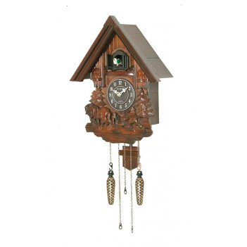 Настенные часы с кукушкой sinix 693farm (кварцевые)