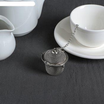 Ситечко для чая «корзиночка», на цепочке