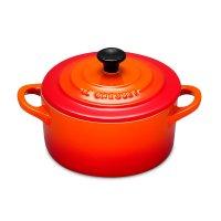 Кокот , объем: 0,2 л, диаметр: 10 см, материал: керамика, цвет: оранжевый,