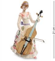 Jp-37/ 1 фигурка девушка с виолончелью (pavone)