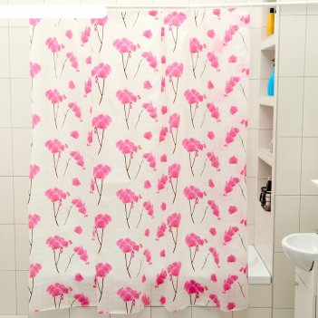 Штора для ванной 180x180 см орхидея,